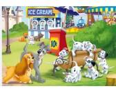Puzzle 101 dalmatinů - DĚTSKÉ PUZZLE