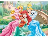 Puzzle Princezny s pejsky - DĚTSKÉ PUZZLE