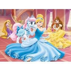 Puzzle Princezna s koníkem - DĚTSKÉ PUZZLE