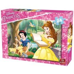 Puzzle Princezny - četba - DĚTSKÉ PUZZLE