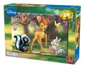 Puzzle Bambi se zvířátky - DĚTSKÉ PUZZLE