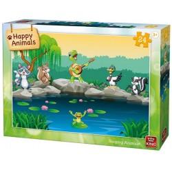 Puzzle Zvířátka u vody - DĚTSKÉ PUZZLE