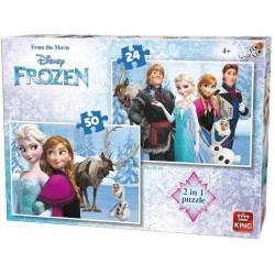 Puzzle Ledové království - DĚTSKÉ PUZZLE