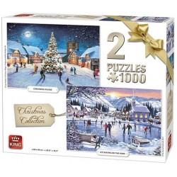 Puzzle Vánoční kolekce