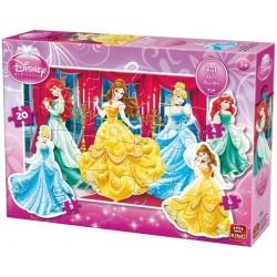 Puzzle Princezny - KONTURA PUZZLE