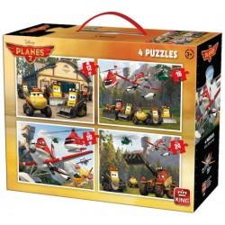 Puzzle Letadla 4v1 - DĚTSKÉ PUZZLE