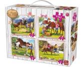 Puzzle Život u koní - DĚTSKÉ PUZZLE