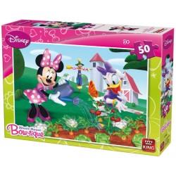 Puzzle Minnie na zahrádce - DĚTSKÉ PUZZLE