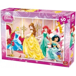 Puzzle Princezny v paláci - DĚTSKÉ PUZZLE