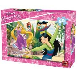 Puzzle Šikovné princezny - DĚTSKÉ PUZZLE