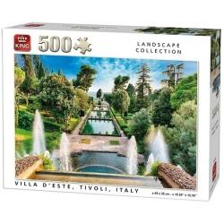Puzzle Letní vila Tivoli, Itálie
