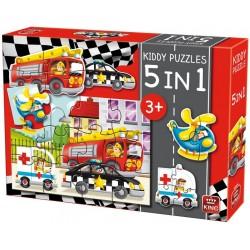 Puzzle Hasiči - DĚTSKÉ PUZZLE