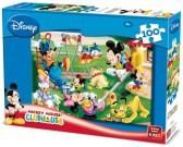Puzzle Mickey Mouse na hřišti - DĚTSKÉ PUZZLE