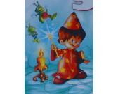 Puzzle Malý kouzelník - DĚTSKÉ PUZZLE