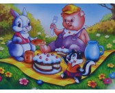 Puzzle Narozeninová oslava - DĚTSKÉ PUZZLE