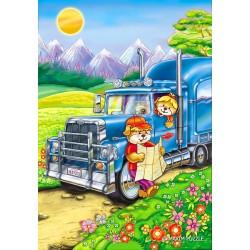 Puzzle Medvídci na cestách - DĚTSKÉ PUZZLE