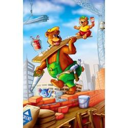 Puzzle Medvědi na stavbě - DĚTSKÉ PUZZLE