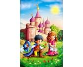 Puzzle Princ s princeznou - DĚTSKÉ PUZZLE