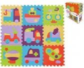 Puzzle Dopravní prostředky - PĚNOVÉ PUZZLE