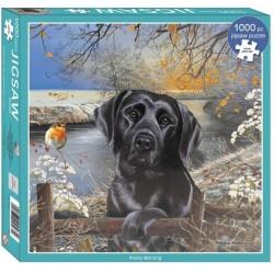 Puzzle Černý pes
