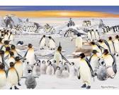 Puzzle Tučňáčí slavnost