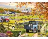Puzzle Ráno na venkově