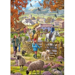 Puzzle Podzimní procházka