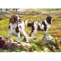 Puzzle Lovečtí psi