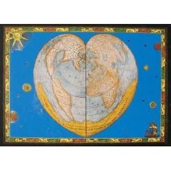 Puzzle Srdce světa - METALICKÉ PUZZLE
