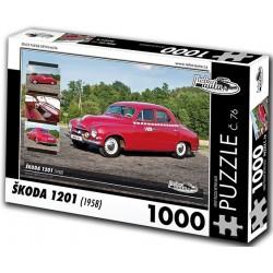Puzzle Škoda 1201 (1958)