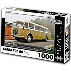 Puzzle Bus Škoda 706 RO (1951)