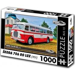 Puzzle Bus Škoda 706 RO LUX (1951)