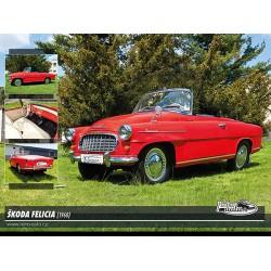 Puzzle Škoda Felicia (1960)