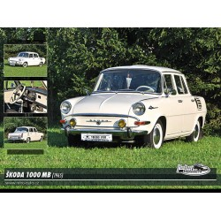 Puzzle Škoda 1000 MB (1965)