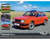 Puzzle Škoda Rapid 130 (1986)