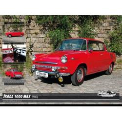 Puzzle Škoda 1000 MBX (1967)