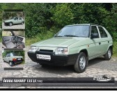 Puzzle Škoda Favorit 135 LS (1988)
