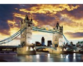Puzzle Tower Bridge  v noci