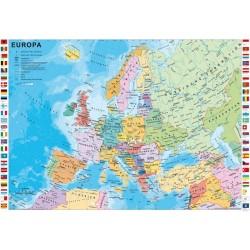 Puzzle Politická mapa Evropy