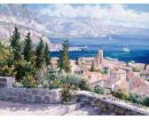 Puzzle Nad střechami St. Tropez