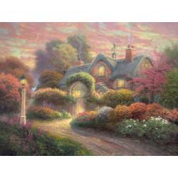 Puzzle Dům růží