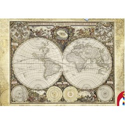 Puzzle Mapa světa