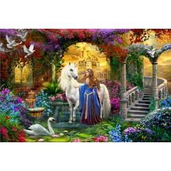 Puzzle Ve vílí zahradě