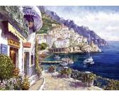 Puzzle Odpoledne v Amalfi