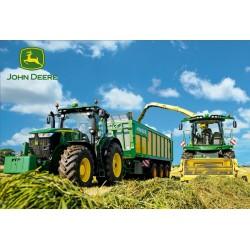 Puzzle Traktory - sklizeň - DĚTSKÉ PUZZLE