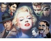 Puzzle Marilyn Monroe s přáteli