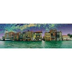 Puzzle Pohled na Benátky - PANORAMATICKÉ PUZZLE