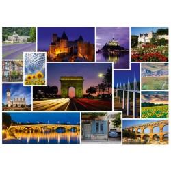 Puzzle Jedeme na dovolenou - Francie