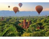 Puzzle Horkovzdušné balóny nad Myanmarem
