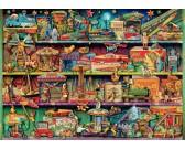 Puzzle Hračky v poličce
